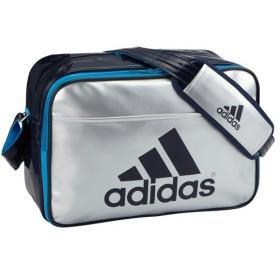 アディダス エナメル ショルダーM2 SLVメット/ソーラーB adidas Z7678 S92820 サッカー、フットサル サッカー用バッグ