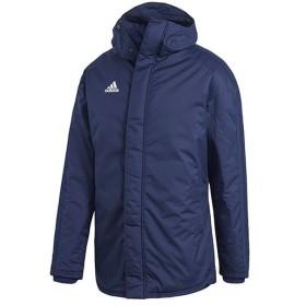 アディダス(adidas) メンズ サッカーウェア CONDIVO18 スタジアムパーカー ダークブルー/ホワイト DJV53 CV8273 サッカー フットサル トレーニングウェア