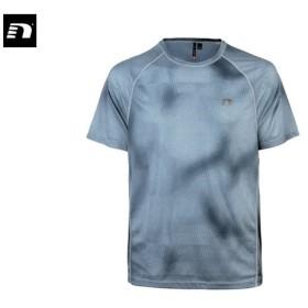 ニューライン newline メンズ アイモーション プリント TEE スポーツ ランニング 半袖 シャツ