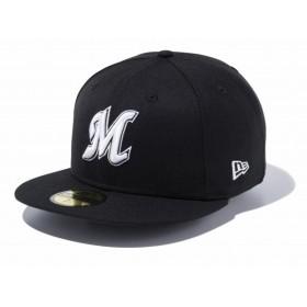 ニューエラ NEW ERA 59FIFTY NPB 千葉ロッテマリーンズ 日本プロ野球 日本プロ野球カスタム 帽子 キャップ