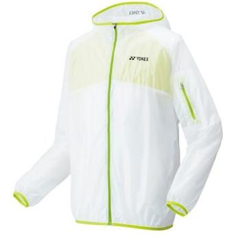 ヨネックス(YONEX) ユニセックス ウォームアップパーカー ライムイエロー 50063 500 テニスウェア テニス・バドミントン メンズ レディース