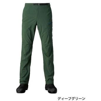 シマノ XEFO (ゼフォー) ゴア ウィンドストッパー ボトム PA-241R ディープグリーン Lサイズ (O01) (S01) (送料無料) (週末セール商品)