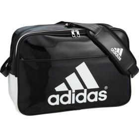 アディダス 【男女兼用 エナメルバッグ】 BASIC エナメル L BLK/WHT adidas BIP41 AP3357 サッカー、フットサル サッカー用バッグ