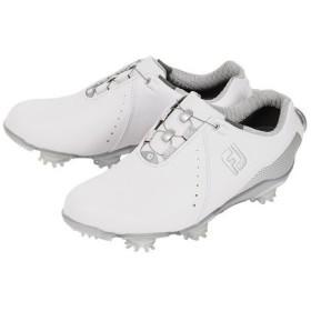 フットジョイ(FootJoy) ゴルフシューズ ゴルフシューズ 18 Wo DJ ボア WT/SV 99068W (レディース) (Lady's)