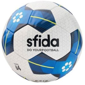スフィーダ(sfida) VAIS KIDS 4号球 WHITE/BLUE BSF-VA03 サッカーボール 小学生 小学校 キッズ