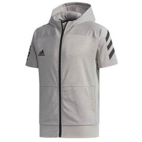アディダス adidas 5T半袖フードフルジップスウェット 野球 ウェア トレーニング アウトレット セール