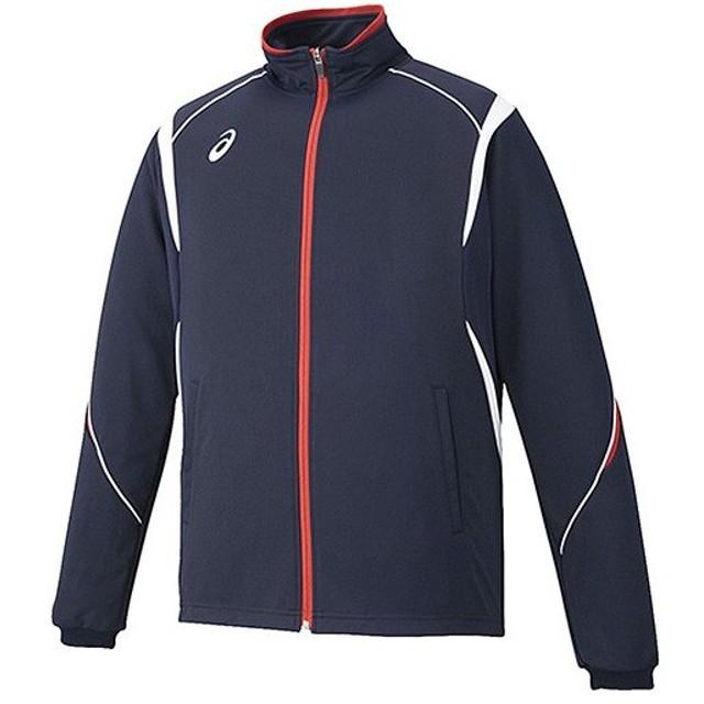 88465fd8c173a3 アシックス(asics) メンズ トレーニングジャケット ネイビー XAT143 50 トレーニングウェア 上着 長袖 スポーツ