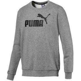 プーマ(PUMA) トレーニングウェア メンズ ESS ロゴ クルースウェット ミディアムグレーヘザー 851750 03 スポーツウェア トレーナー