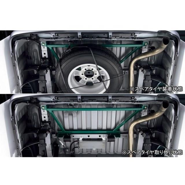 【200 ハイエース | トヨタモデリスタ】 ハイエース 200系 4型 MODELLISTA SELECTION (Exterior) リヤブレース 標準ボディ