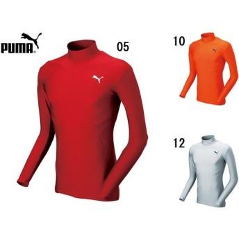 プーマ PUMA モックネック LS シャツ サッカー インナー コンプレッション アウトレット セール