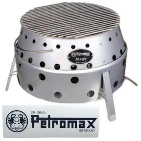 ペトロマックス Petromax 焚火台 アタゴ & ロゴステッカーセット 焚き火 バーベキュー コンロ グリル キャンプ