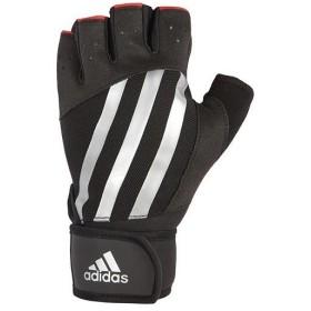 アディダス(adidas) エリート トレーニング グローブ シルバー Lサイズ ADGB-14215 トレーニング用品 手袋 筋トレ ウエイトトレーニング オープンフィンガー