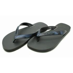 0d9e7a1442d (靴)LOUIS VUITTON ルイ ヴィトン メンズ サンダル ビーチサンダル ラバー ブラック ネイビー 迷彩柄