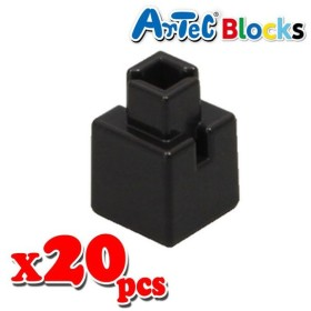 Artec アーテック ブロック ミニ四角 20ピース(黒)知育玩具 おもちゃ 追加ブロック パーツ 子供 キッズ アーテック  77838