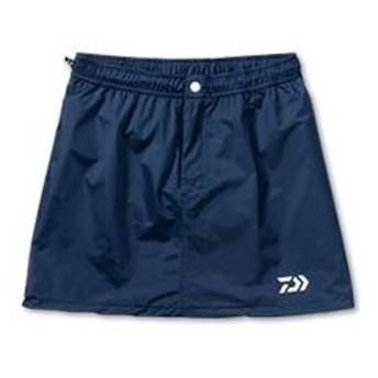 ダイワ レインマックス 100 レインスカート DA−9101 ネイビー (釣女)