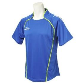 ダウポンチ(Dalponte) ダブルパイピングゲームシャツ DPZ30 R.BLU フットサル ウェア ゲームシャツ ユニフォーム