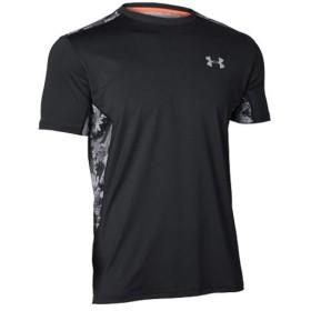 アンダーアーマー(UNDER ARMOUR) 9ストロング ショートスリーブ シャツ UA 9 STRONG SS SHIRT 001:BLK/RLT 1313590 野球 ウェア Tシャツ 半袖 メンズ