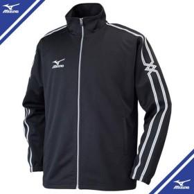 ウォームアップシャツ (09ブラック)  MIZUNO ミズノ トレーニングウエア ウォームアップスーツ (32jc600309)