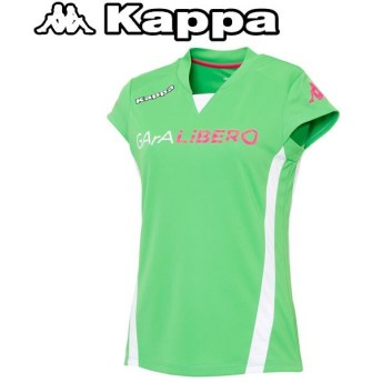 カッパ サッカー プラクティスシャツ レディース KF622TS63-YG