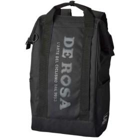 デローザ(DE ROSA) apparel アパレル 4WAY BACKPACK 4ウェイ バックパック ブラック(BLACK) リュック バッグ アウトドア サイクル ショルダー