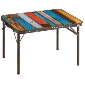 ロゴス(LOGOS) キャンプ グランベーシック 丸洗いスリムサイドテーブル7060 73189035 アウトドア グランピング 高さ調節可能 おしゃれ プレミアムライン