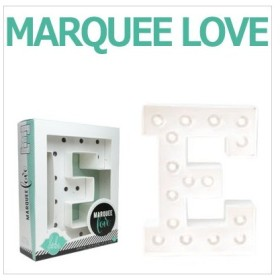 MARQUEE LOVE lettersLEDイニシャルライトオブジェマーキーライト マーキーレター369084 MARQUEE KIT E