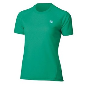 finetrack ファイントラック ラミースピンドライT Ws/EM/L FMW0241 女性用 グリーン Tシャツ アンダーシャツ アウトドア 釣り 旅行用品 半袖Tシャツ