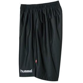 ヒュンメル(hummel) プラクティス パンツ ブラック×ホワイト HAP2039 9010 サッカー・フットサル・ハンドボール メンズ トレーニングウェア スポーツウェア