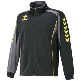 ヒュンメル(hummel) ウォームアップジャケット 90/ブラック HAT2065 メンズ トレーニングウェア スポーツウェア ジャージ
