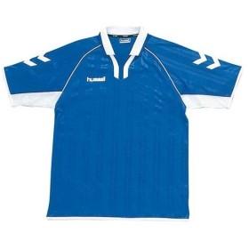 ヒュンメル(hummel) 半袖ゲームシャツ HAG1020 63/ロイヤルブルー×ホワイト サッカー プラシャツ 練習着