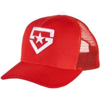 アンダーアーマー(UNDER ARMOUR) ユース パネルキャップ レギュラー UA BB PANEL CAP Y REG 600:RED ONESIZE 1313757 野球 少年野球 キャップ 帽子 ジュニア