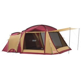 コールマン(Coleman) タフスクリーン2ルームハウス バーガンディ 2000032598 テント キャンプ アウトドア