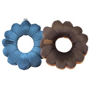 トータルピロー 2個セット ブルー・ブラウン