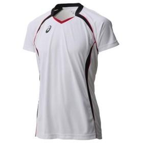 アシックス asics メンズ&レディース ゲームシャツHS バレーボール ウエア 半袖シャツ