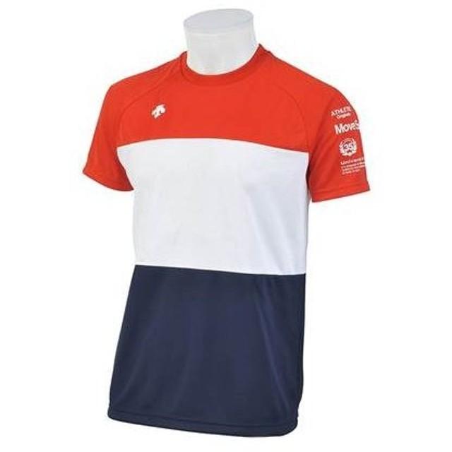 デサント DESCENTE メンズ サンススクリーン ハーフスリーブTシャツ スポーツ トレーニング 半袖 Tシャツ