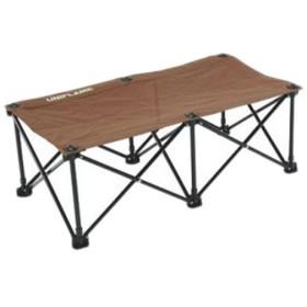 ユニフレーム(UNIFLAME) キャンプ チェア リラックスベンチ ブラウン×ブラック 680315 アウトドア バーベキュー 椅子 イス ベンチ ロースタイル