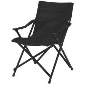 ユニフレーム(UNIFLAME) キャンプ チェア UFチェア100 オールブラック 680339 アウトドア バーベキュー 折りたたみ 椅子 いす