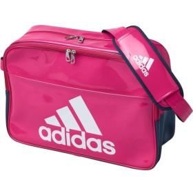 アディダス 【男女兼用 エナメルバッグ】 BASIC エナメル L ボールドPNK/CO adidas BIP41 BS0733 サッカー、フットサル サッカー用バッグ