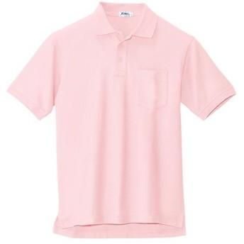 ジーベック(XEBEC) 半袖ポロシャツ 75/ピンク 6170 作業服 作業着 ワークウエア ワークウェア メンズ レディース
