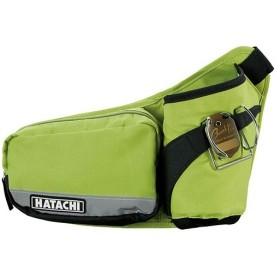 ハタチ(HATACHI) ラージポケットドリンクポーチ ライムグリーン BH7940-37 グラウンドゴルフ バッグ ケース