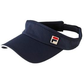 フィラ(FILA) バイザー フィラネイビー フリーサイズ VM9501 20 テニス 帽子 サンバイザー レディース