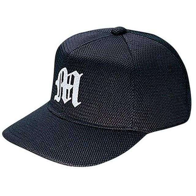 ミズノ(MIZUNO) オールメッシュ 六方型 ネイビー 12JW7B1114 野球 キャップ 帽子