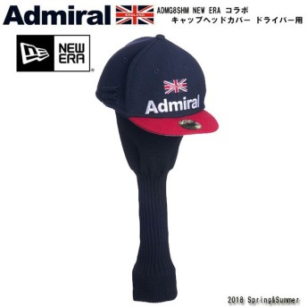 ヘッドカバー アドミラル admiral ADMG8SHM NEW ERA コラボ キャップヘッドカバー