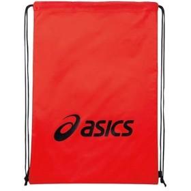 アシックス(asics) ライト バッグ L レッド×ブラック EBG440 2390 スポーツバッグ リュックサック ジムバッグ 鞄