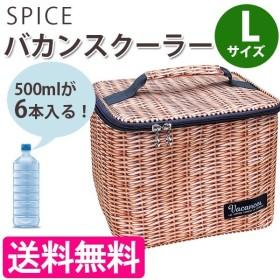 クーラーボックス 小型 バカンスクーラー パニエ ピクニック バスケット 保冷バッグ