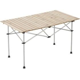 コールマン(Coleman) キャンプ ナチュラルウッド ロールテーブル120 2000031291 テーブル アウトドア バーベキュー 木製 定番商品