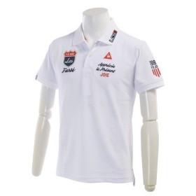 ルコック スポルティフ (Lecoq Sportif) ドライストレッチ鹿の子ポロシャツ (メンズ半袖ポロシャツ) QG1533-N942 (17春夏) (Men's)