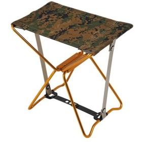 アディロンダック(ADIRONDACK) キャンプ マイクロチェア ゴールドフレーム デジウッドランド 89001058001006 アウトドア バーベキュー 椅子 折りたたみ 軽量