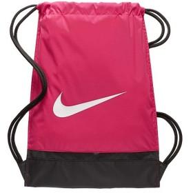 ナイキ(NIKE) ブラジリア ジムサック ラッシュピンク/ブラック/ホワイト MISC BA5338 666 スポーツバッグ ナップサック ジムバッグ 鞄 メンズ レディース