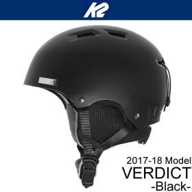K2 ケーツー ヘルメット 2019 VERDICT ブラック バーディクト 18-19 K2 helmet スキー&スノーボードヘルメット スノー用品 【C1】